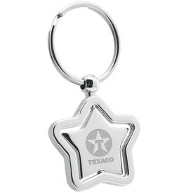 Star Swivel Metal Keyholder