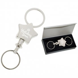 Star Valet Keychain for Your Company