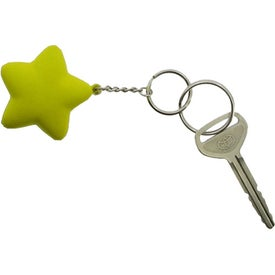 Star Key Chain for Your Company