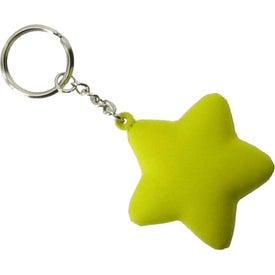 Star Key Chain for Customization