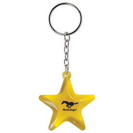 Star Keychain for Promotion