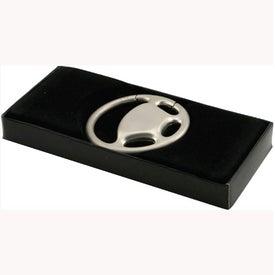 Customized Steering Wheel Pull-N-Twist Metal Keyholder