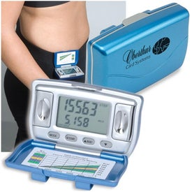 Promotional Step and BMI Pedometer