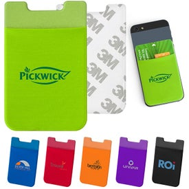 Stick and Go Mobile Wallet Pouch