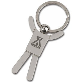 Stickman Key Tag