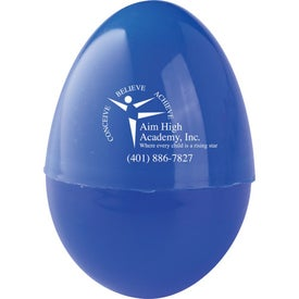 Sticky Hand and Egg with Your Logo