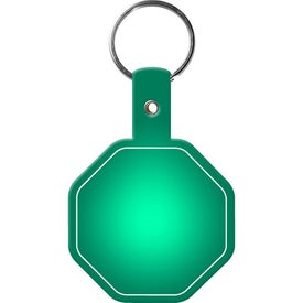 Customized Stop Sign Key Tag