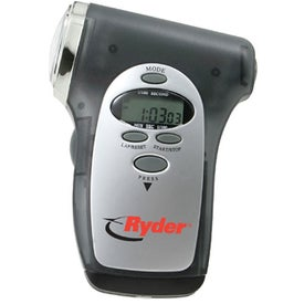 Stopwatch Compass Radio Timer Flashlight