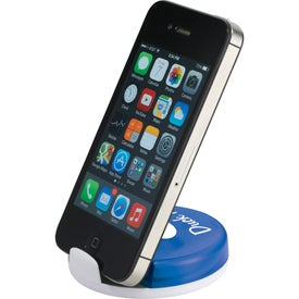 Logo Storm Earbuds and Mobile Phone Stand