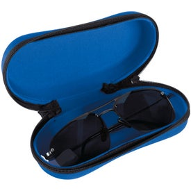 Monogrammed Structured Sunglasses Case