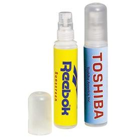 St. Thomas Sunblock Spray Bottle