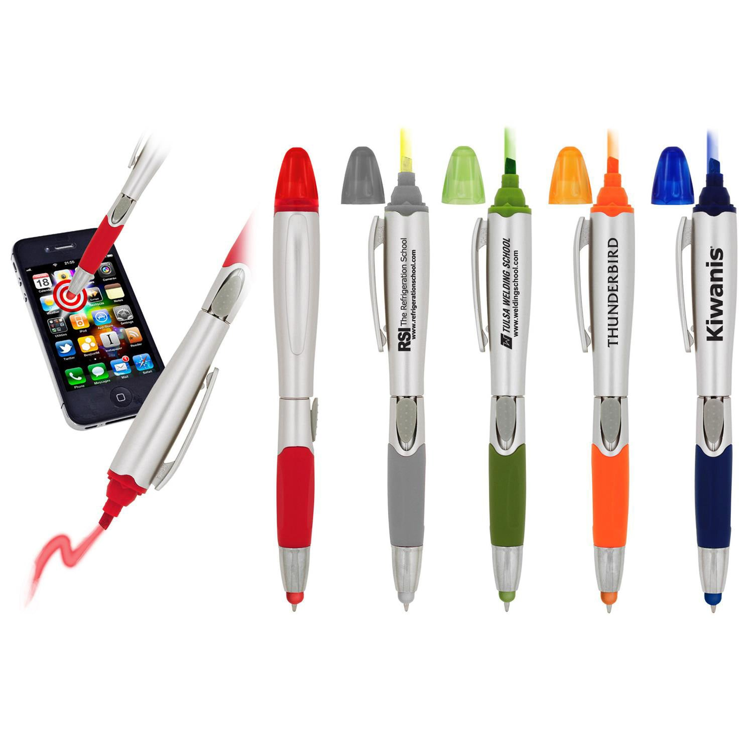 save big on stylus pen and highlighter combos printed with