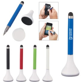 Stylus Pen Stand With Screen Cleaner