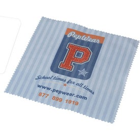 Sublimated Heavy Duty Kleen Sweep Microfiber Cloth Imprinted with Your Logo