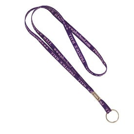 Sublimated Lanyard with Split Ring