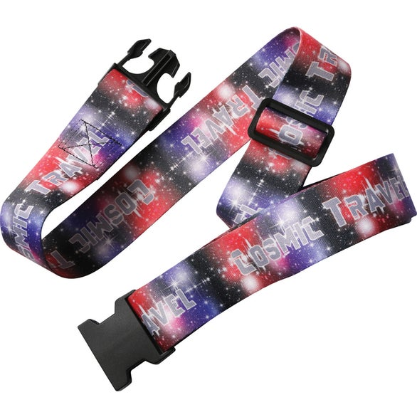 Full Color Imprint Sublimation Luggage Strap