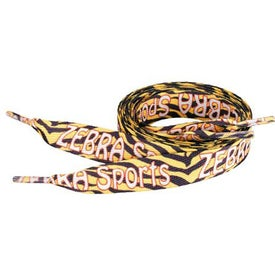"Sublimation Shoelaces (3/4"" x 45"")"