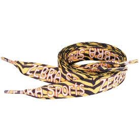 "Sublimation Shoelaces (3/4"" x 54"")"