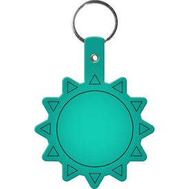 Logo Flexible Sun Key Tag