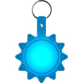 Flexible Sun Key Tag with Your Logo