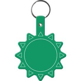 Flexible Sun Key Tag Giveaways