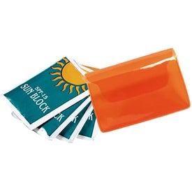 Logo Sun Kits In Vinyl Pouch