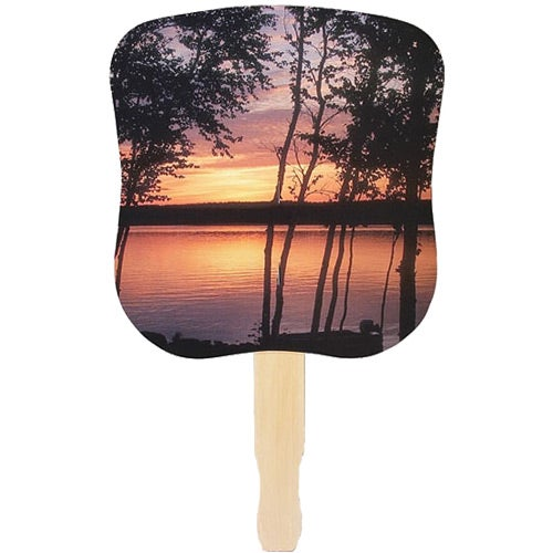 Sunset Hand Fan