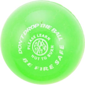 Super Bouncy Balls with Your Slogan