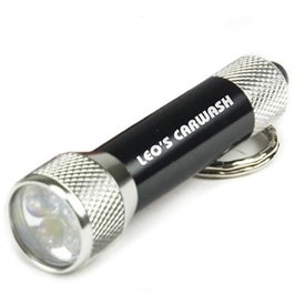 Super Bright LED Flashlight Branded with Your Logo