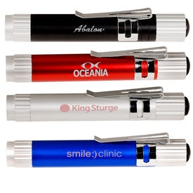 Super Bright Pocket Torch Printed with Your Logo