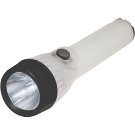 Super-Glow Safety Torch Flashlight with Your Slogan