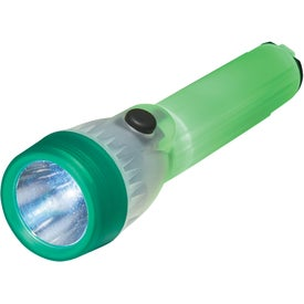 Printed Super-Glow Safety Torch Flashlight