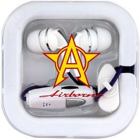 Advertising Super Bass Microphone Ear Buds