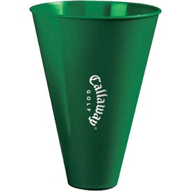 """Superfan Megaphone 7"""" with Built-In Mouthpiece with Your Logo"""
