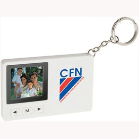Super Slim Mini Digital Keychain Photo Frame