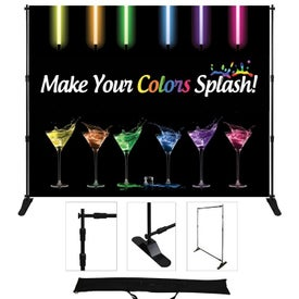 "Supreme Fabric Adjustable Display (96"" x 96"")"