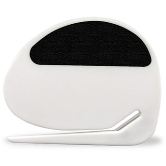 White with Black Rubber Grip