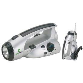 Survival Flashlight and Scan Radio