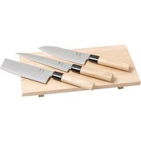 Sushi Knife Set for Advertising