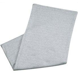Jersey Sweatshirt Blanket for Advertising