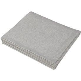 Logo Sweatshirt Blanket