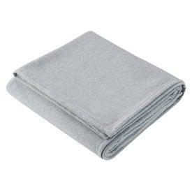 Monogrammed Sweatshirt Blanket