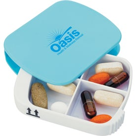 Swerve Pill Box with Your Logo
