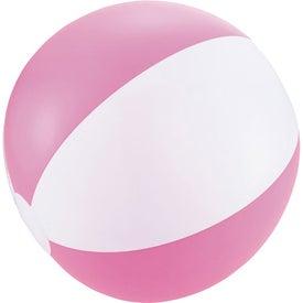 Personalized Swirl Beach Ball