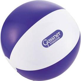 Advertising Swirl Beach Ball