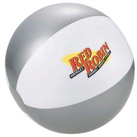 Company Swirl Beach Ball