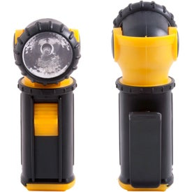 Personalized Swivel Clip Flashlight