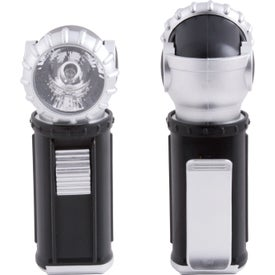 Branded Swivel Clip Flashlight