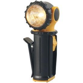 Imprinted Swivel Flashlight