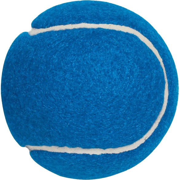 Blue Synthetic Tennis Ball